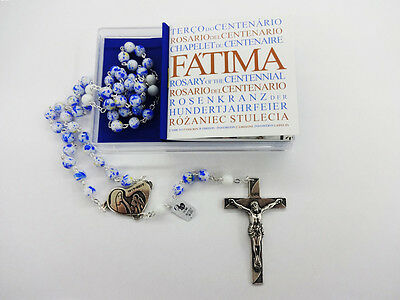 Commemorative Rosary Of The Centenary Of The Our Lady Of Fatima in Box