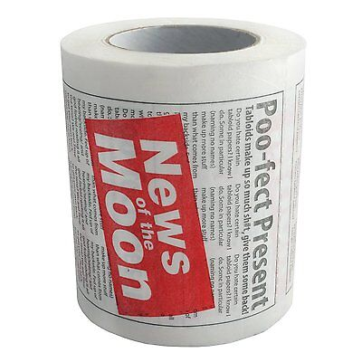 Tabloid Toilet Paper Neuheit Gewebe Wischbar Back To The Müll