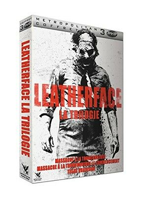 DVD - Leatherface - La Trilogie : Massacre à la tronçonneuse + Massacre à la tro