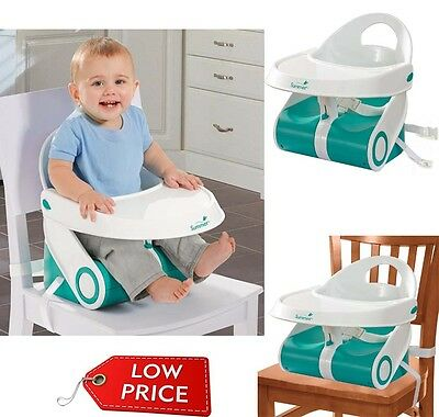 Baby Chair Booster Seat Child Toddler Feeding Dining Home Travel Portable Safety