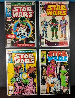 Star Wars Bronze Age Lot! 63 Total! #1-107! Includes Key issues! 1st Boba Fett!