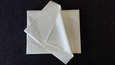 PAPER LUNCH WRAP SHEETS - 500 sheets of 400mm x 300mm - PE coated - sandwich