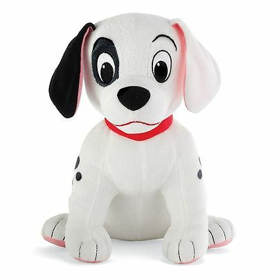 "101 Dalmations PATCH Puppy Stuffed Plush Soft Toy Doll Spot Dog Disney 10"" NEW!"