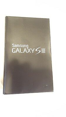 Samsung Galaxy S3 Cell Phone BOX ONLY