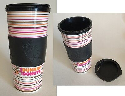 One Dunkin Donuts 2014 Whirley Travel Mug Advertising Promotional Souvenir DD