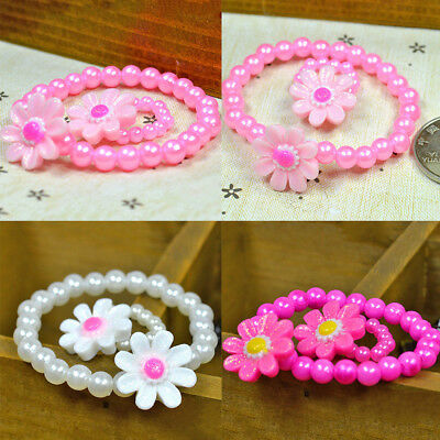 Sunflowers Girls Gift Ring New Hot Bangle Chain Fashion 2016 Jewelry Sets