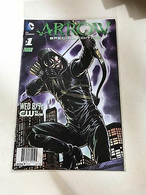 Arrow #1 Special Edition CW TV show series 1st print Mike Grell art 2012