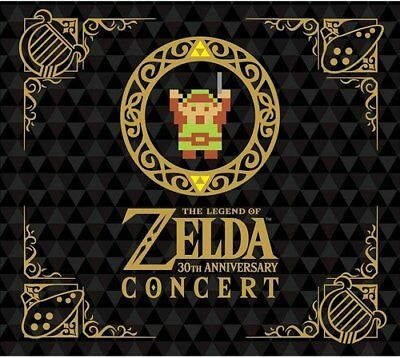 USED The Legend of Zelda 30th Anniversary Concert CD DVD Limited Edtion w/ Bonus