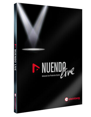 Steinberg Nuendo Live Audio Music Production Suite - Boxed Version