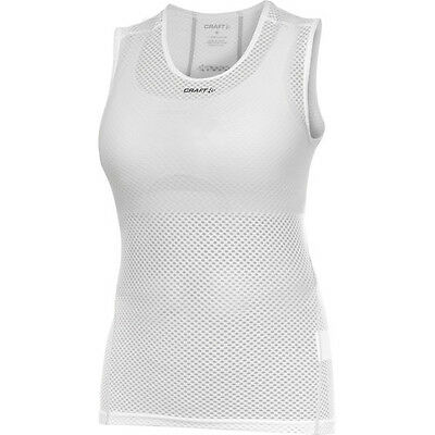 Craft Women's Cool Mesh Superlight Base Layer - White - Size M