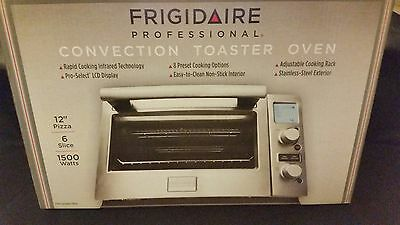 Frigidaire Proffesional Convection Toaster Oven Stainles Model Number FPTO06D7MS