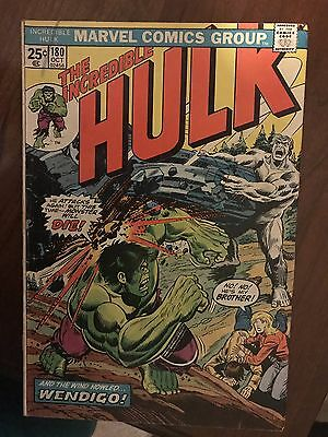 Incredible Hulk 180, 1st Wolverine appearance (cameo).