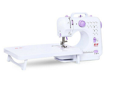 12 Stitches Household Sewing Tool Multifunction Electric Overlock Sewing Machine