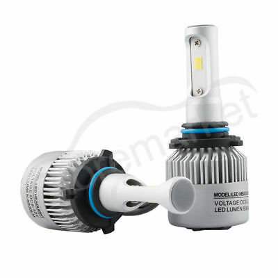 Pair 9005 Hb3 Car Led Headlight Bulb Csp Chips White 6000K 160W 16000Lm Total