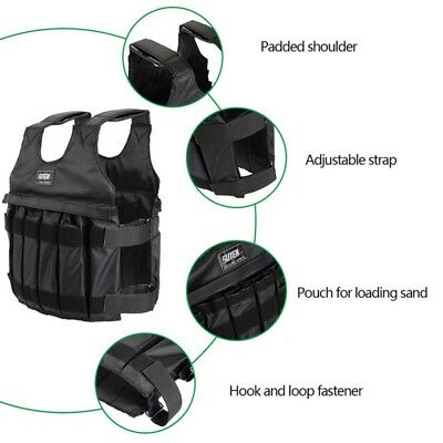 Adjustable Weighted Weight Vest with Shoulder Pads Sanda Exercise Boxing Sand