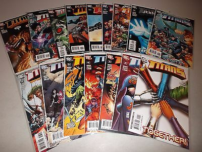 Titans #1-19 (From the 2008 1-38 series)  Lot set run