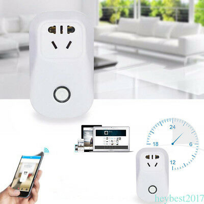 Sonoff S20 Wi-Fi Smart Switch Timer Remote Control Timing Socket For ios/Android