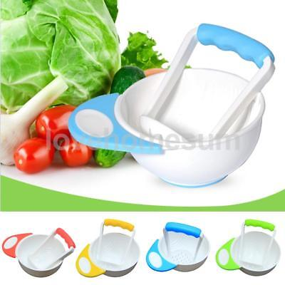 Hot Handmade Grinding Food Top Grinding Bowl Easy To Use Baby Learn Dishes