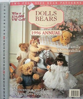 DOLLS BEARS & Collectables Craft ROYAL FAMILY 1996 Annual - 116 Pages DB2