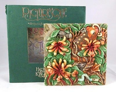"""Picturesque """"A Frog's Life"""" PXGE3 from Byron's Secret Garden Magnetic Tile"""
