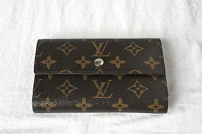 Vintage Louis Vuitton French Purse Trifold Wallet