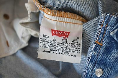 Jeans Levis 501 Vintage MADE in USA - 1990s UNISEX W33 L34