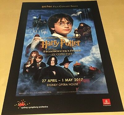 Harry Potter & the Philosophers Stone In Concert Programme - Sydney Opera House