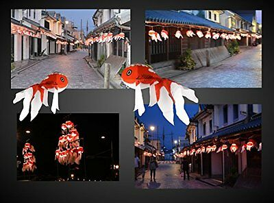 From Japan Kingyo Chochin Lantern Gold Fish