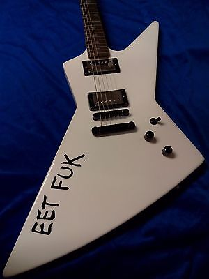 James Hetfield JH Electric Guitar EET FUK custom vinyl sticker **free shipping**