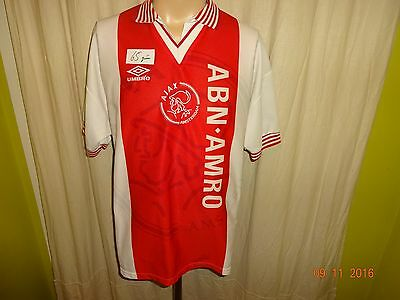 "Ajax Amsterdam Original Umbro Club WM Sieger Trikot 1995 ""ABN- AMRO"" Gr.M TOP"