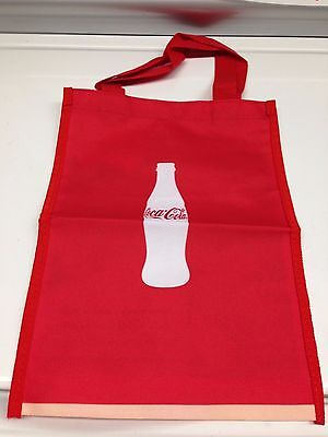 Coca Cola Red and White Logo Tote Bag