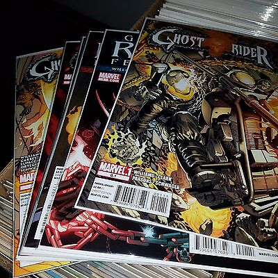 Ghost Rider (2011) Lot - Complete Series Set w/#s 0.1, 1-9, Higher Grade