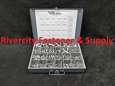 Stainless Socket/ Allen Cap Screw Assortment Kit With Nuts & Washers