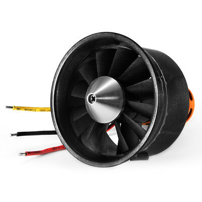 64mm/70mm EDF Duct 12 Fan Unit Blade Prop Motor Kit for RC Jet AirPlane Aircraft