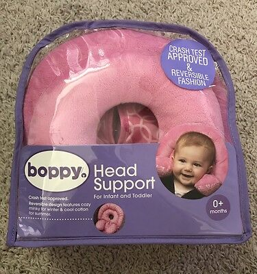 Boppy Infant to Toddler Head and Neck Support Reversible Design Pink