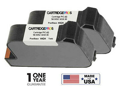 FP PostBase PIC40 HY Ink Cartridges for Postbase 20,45,65,85 PIC-40