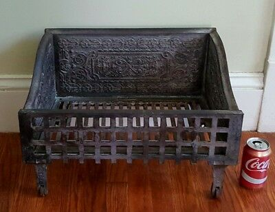 Antique C & B Ornate Fireplace Coal Box * Pickup Only