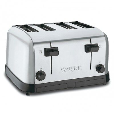 Waring WCT708 Commercial Medium Duty 4-Slot Toaster 1 Year Warranty Genuine 120v