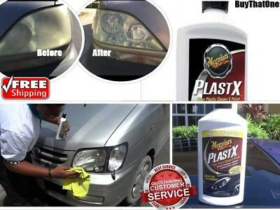 Lens Restoration System Cleaner Lights Tech Headlight Restore Two Minute Polish