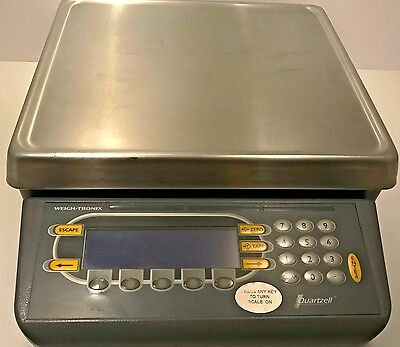 Avery Weigh-Tronix, PC820 Precision Counting Scale, Quartzell PC-820, 50 lbs