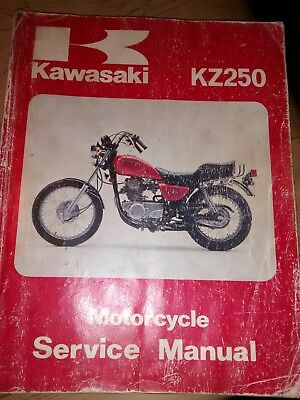 kawasaki  z 250 single manual