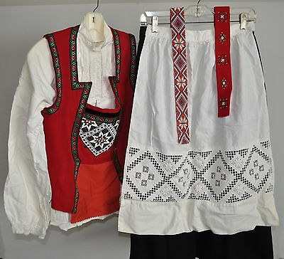 "Norwegian Bunad WITH Jewelry for Adult Woman Size 10-14 ( 5' to 5'6"" tall)"