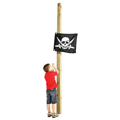 PIRATE FLAG WITH HOISTING SYSTEM KBT Cubby House Playground Accessories