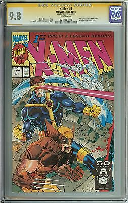 X-Men #1 Cover C CGC 9.8 SS Signature Series Signed by Stan Lee