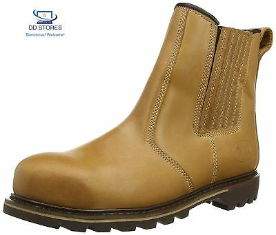 V12 Stampede, Vintage Leather Safety Dealer, 06 UK 39 EU, Tan