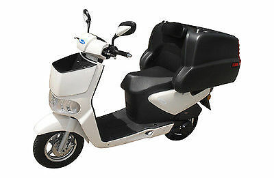 TONELLI ZIPPY 125cc DELIVERY SCOOTER  WHITE