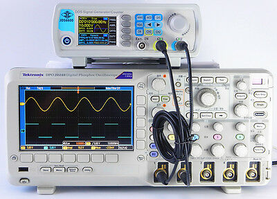 24-40MHZ JDS-6600 Dual-channel DDS Function Waveform Signal Generator Counter GL