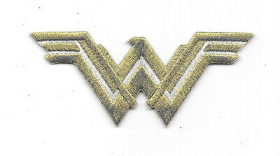 DC Comics Wonder Woman Movie New WW Chest Logo Embroidered Foil Patch NEW UNUSED