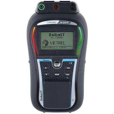 Metrel MI3309BT Delta GT Portable Appliance Tester, PAT Tester, Test & Tag - New