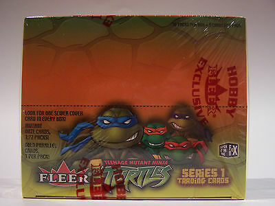 Teenage Mutant Ninja Turtles Series 1 - Sealed Trading Card Box - 2003